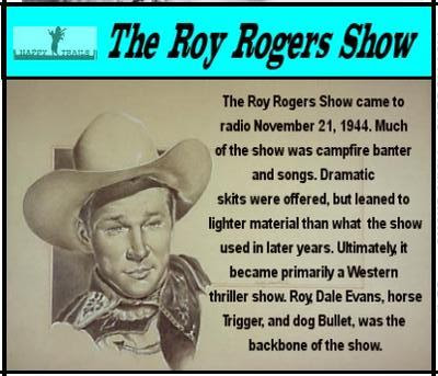 Times Past Old Time Radio Roy Rogers Show The