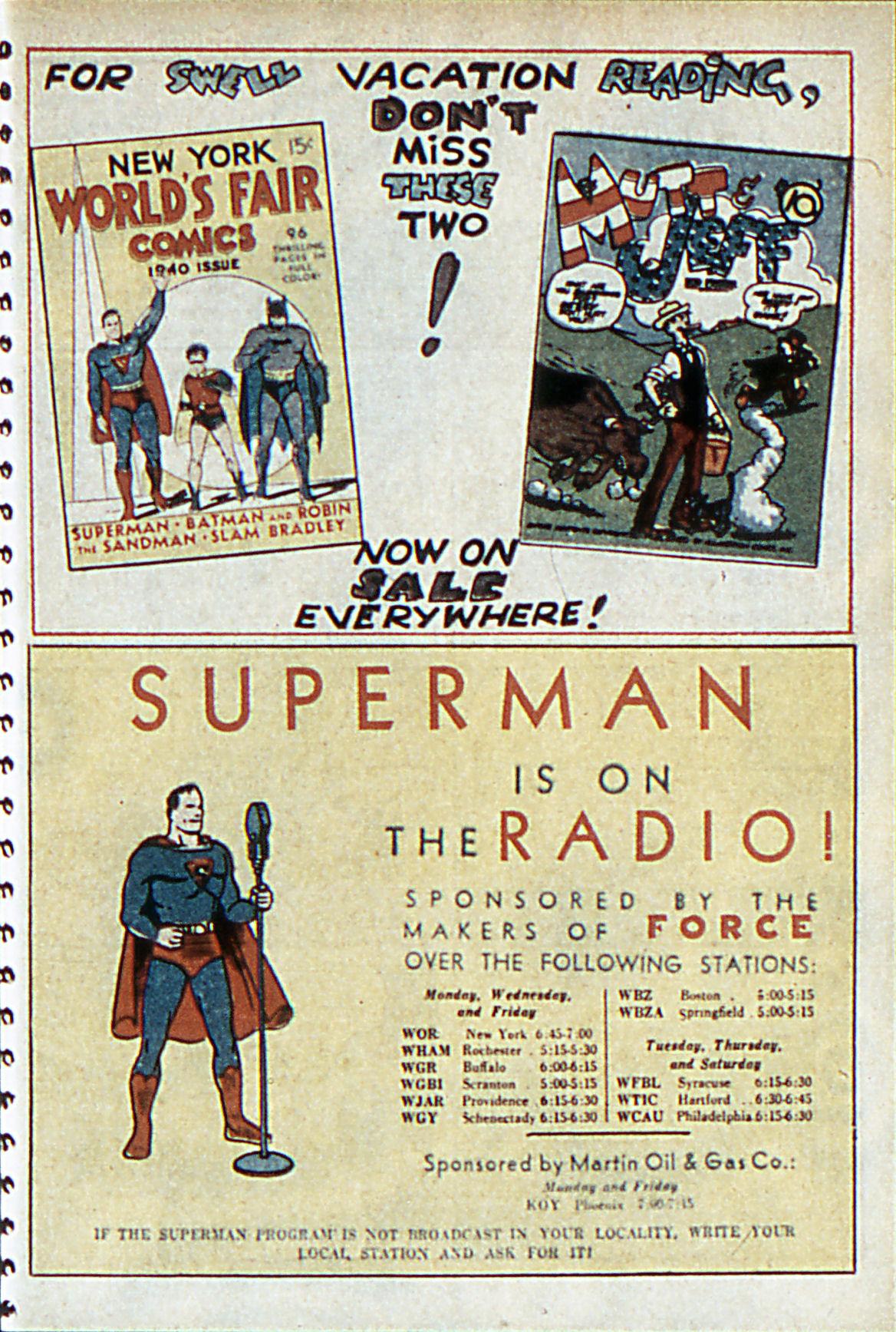 Read online Adventure Comics (1938) comic -  Issue #55 - 32
