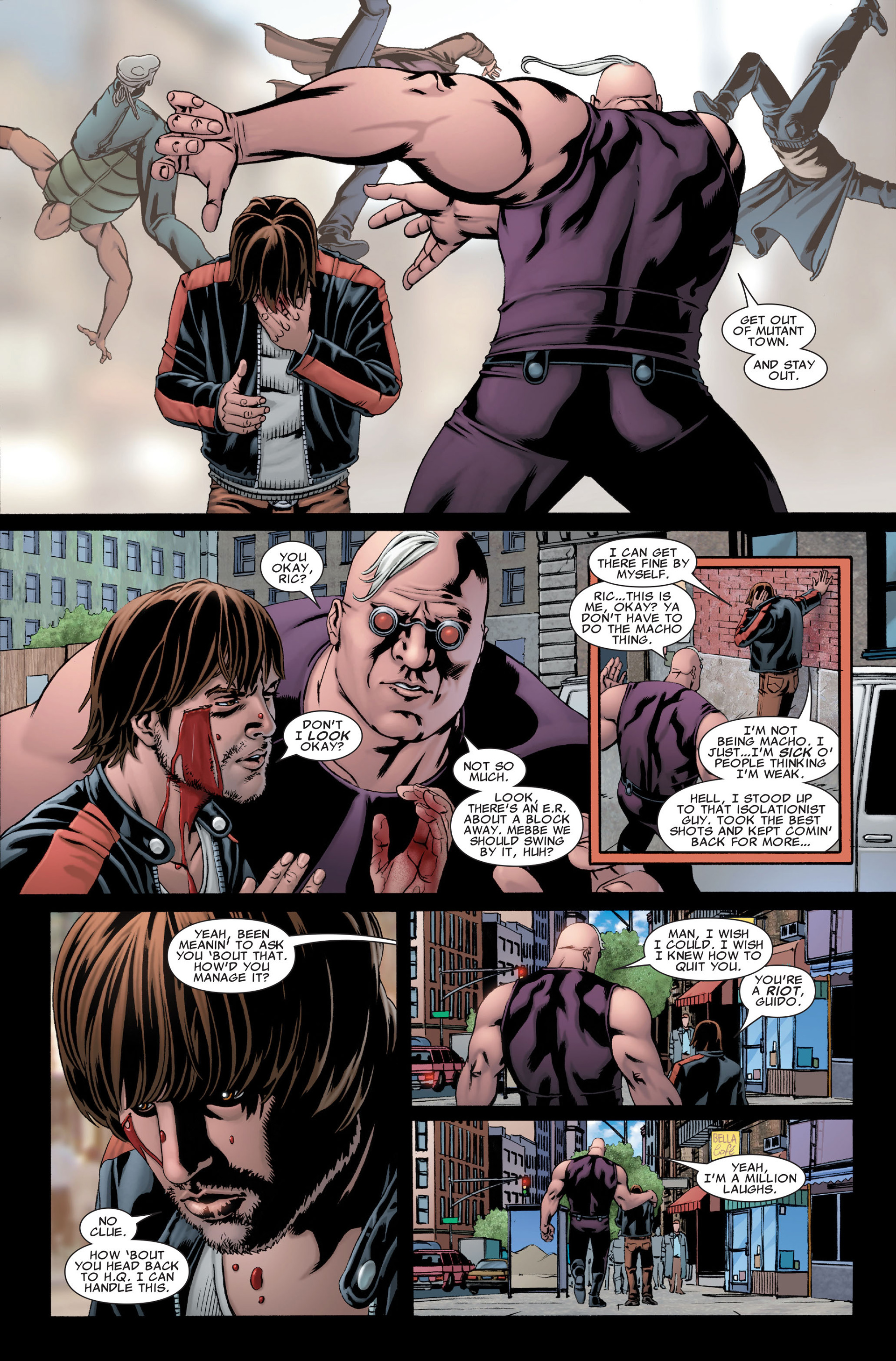 Read online X-Factor (2006) comic -  Issue #28 - 13