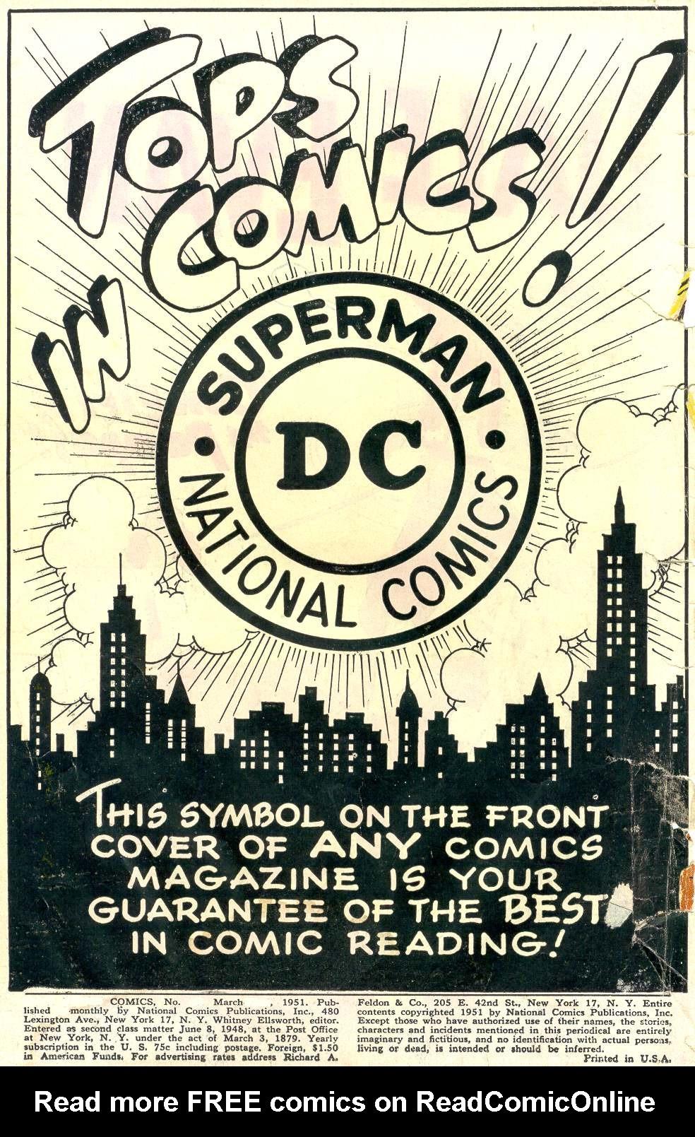 Read online Adventure Comics (1938) comic -  Issue #162 - 2