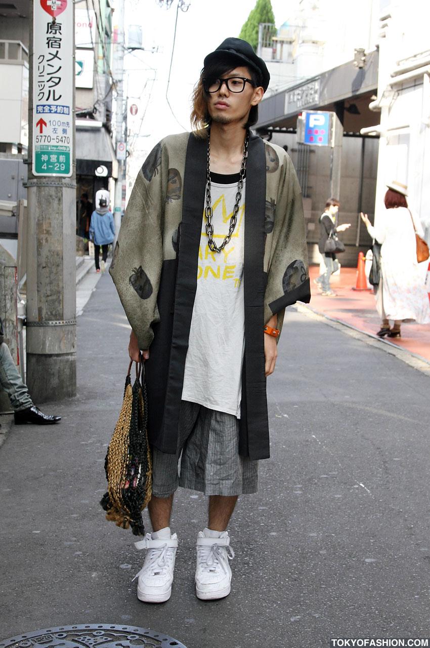 Nerd with Heels: Men's Fashion in Japan
