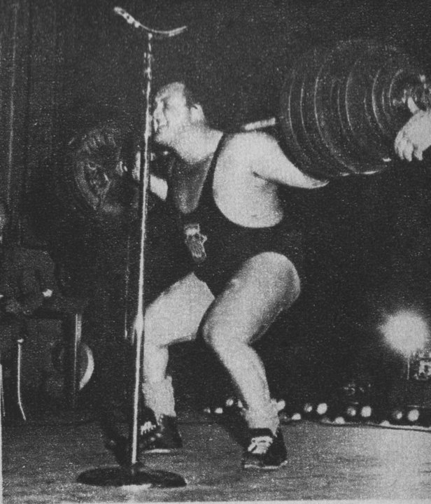 The Tight Tan Slacks Of Dezso Ban Powerlifting Part