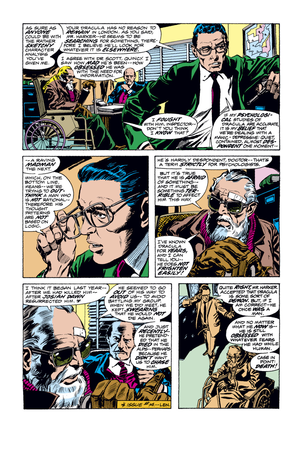 Tomb of Dracula (1972) issue 34 - Page 10