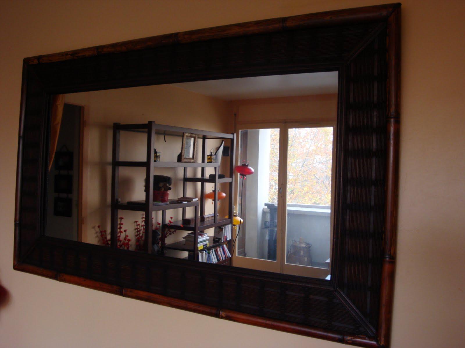 je vends miroir grande taille. Black Bedroom Furniture Sets. Home Design Ideas