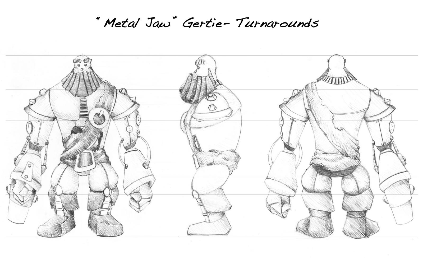 Ruben S Blogpage Unit 2 02 Character Design Turnarounds