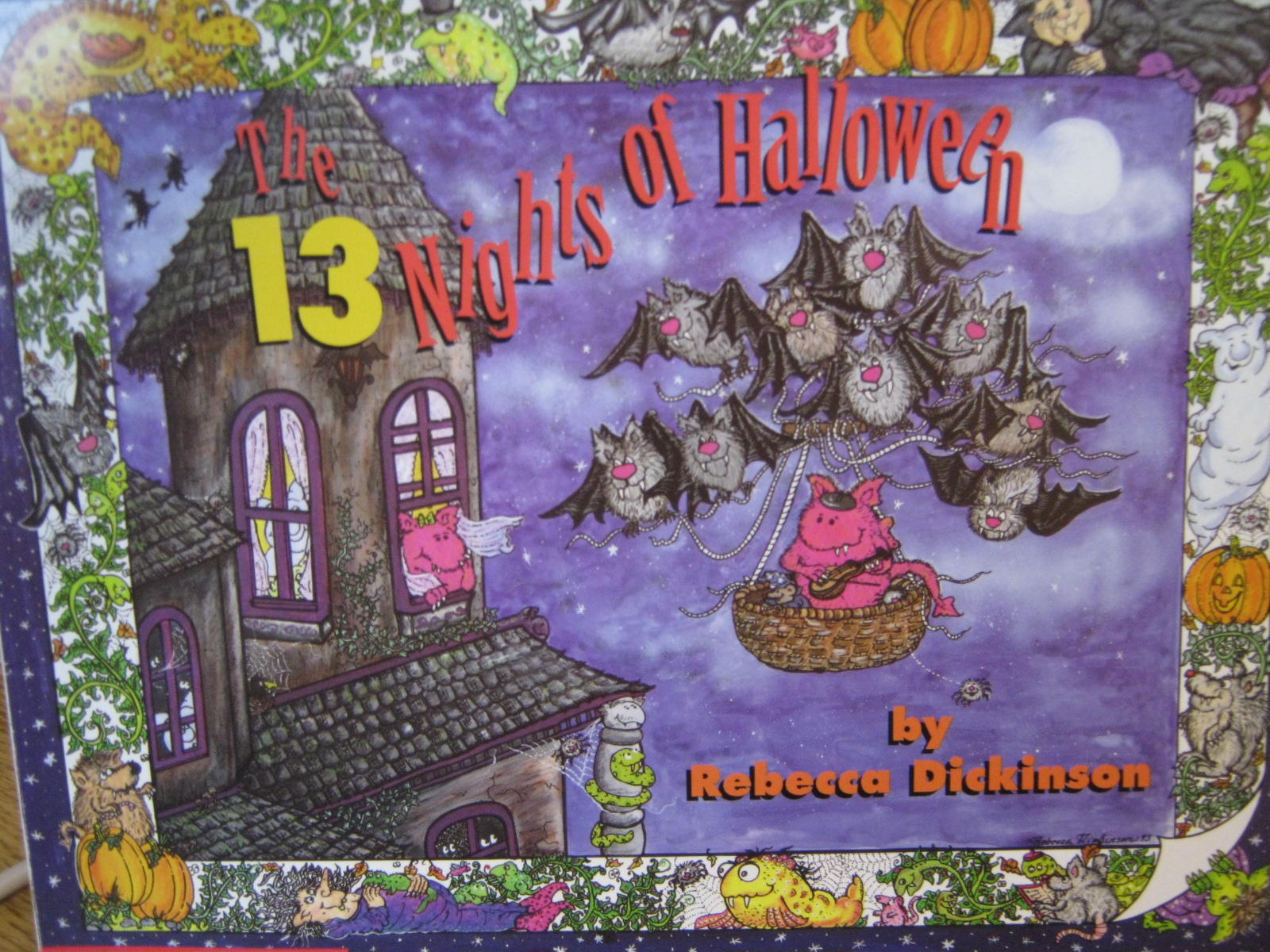 Mrs Warnick S Classroom The 13 Nights Of Halloween