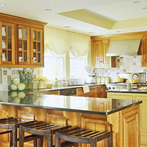 house of decor: Functional Kitchen Shapes and Designs