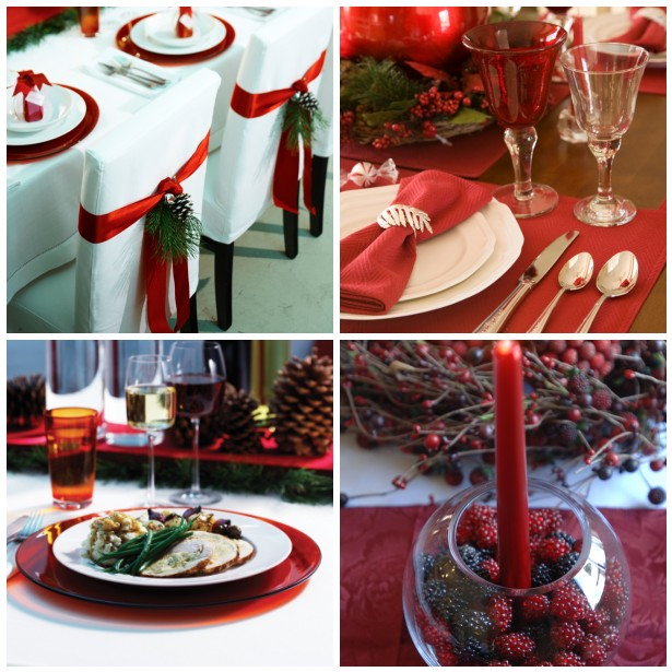 House of decor christmas dinner table setting - Christmas table setting ideas ...