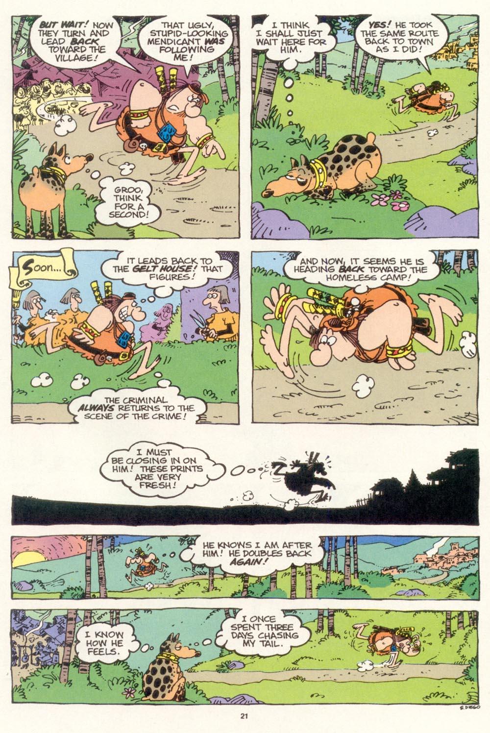 Read online Sergio Aragonés Groo the Wanderer comic -  Issue #118 - 23