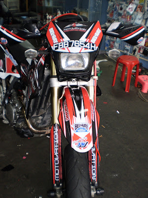 The ones who went to bike asia 09 and visited motovation booth will have seen this bike showcased there
