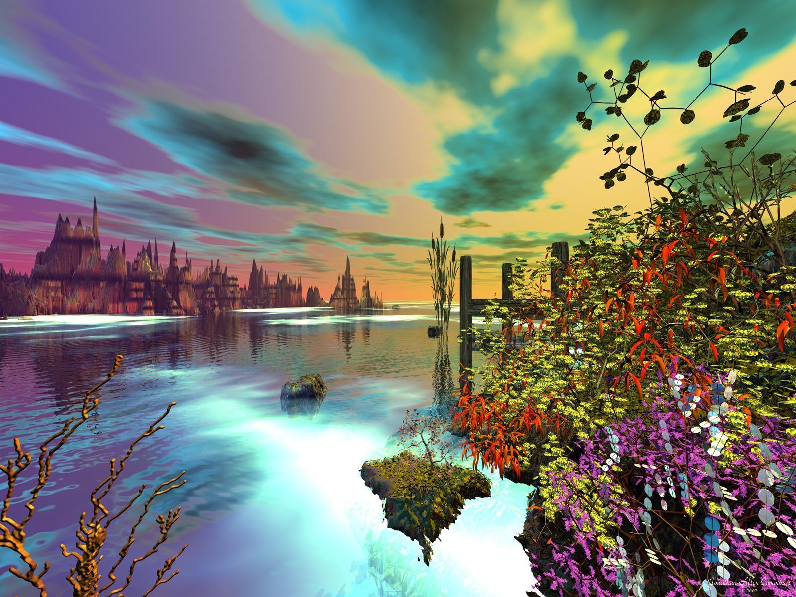 Beautiful Summer Scenery Wallpaper - WallpaperSafari  Beautiful Summer Scenes