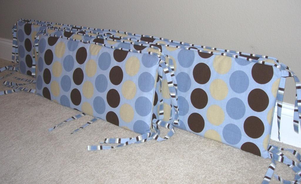 Crib Bumper Pattern