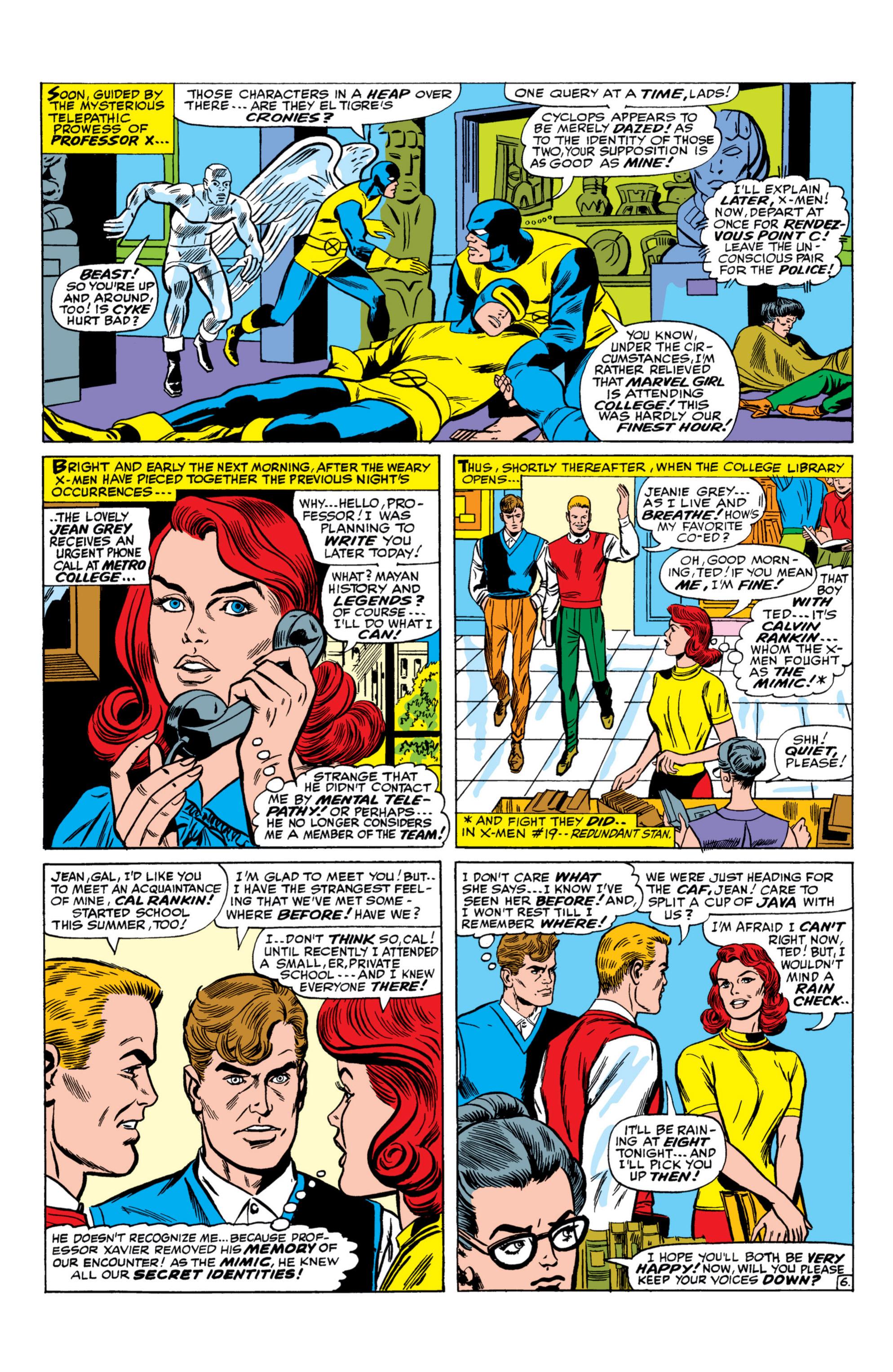 Read online Uncanny X-Men (1963) comic -  Issue #26 - 7