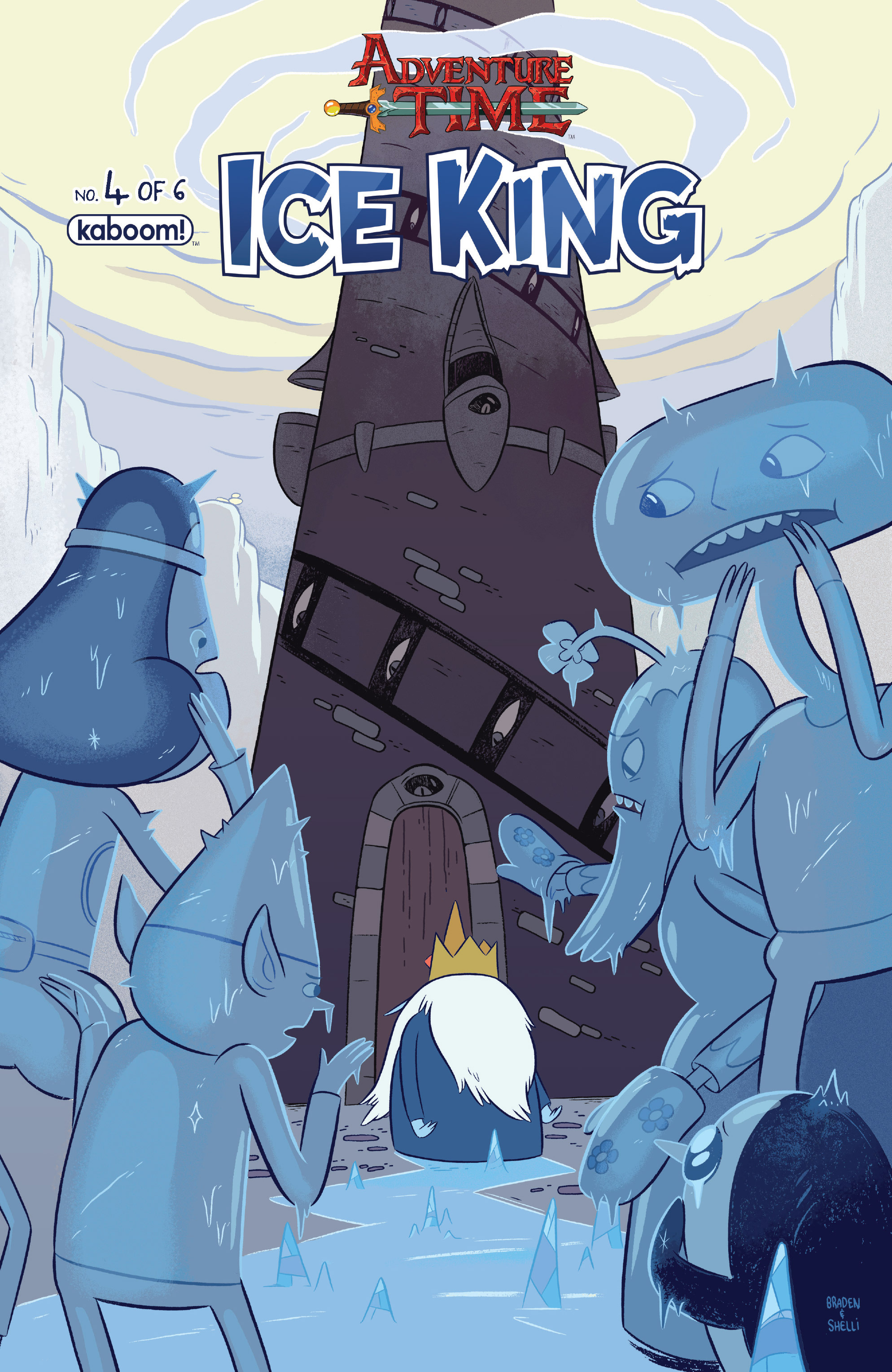 Read online Adventure Time: Ice King comic -  Issue #4 - 1