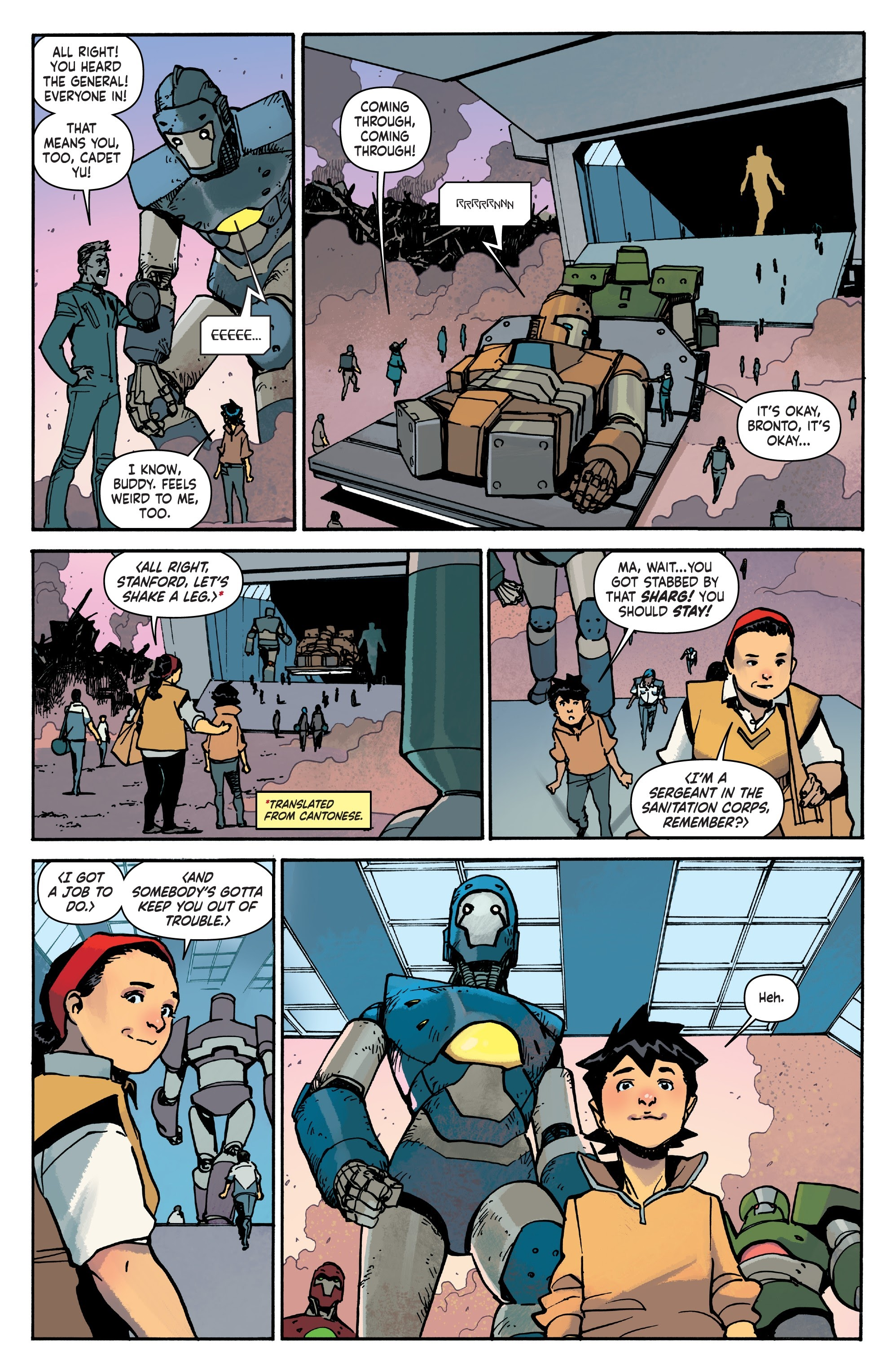 Mech Cadet Yu #_TPB_2 #15 - English 56