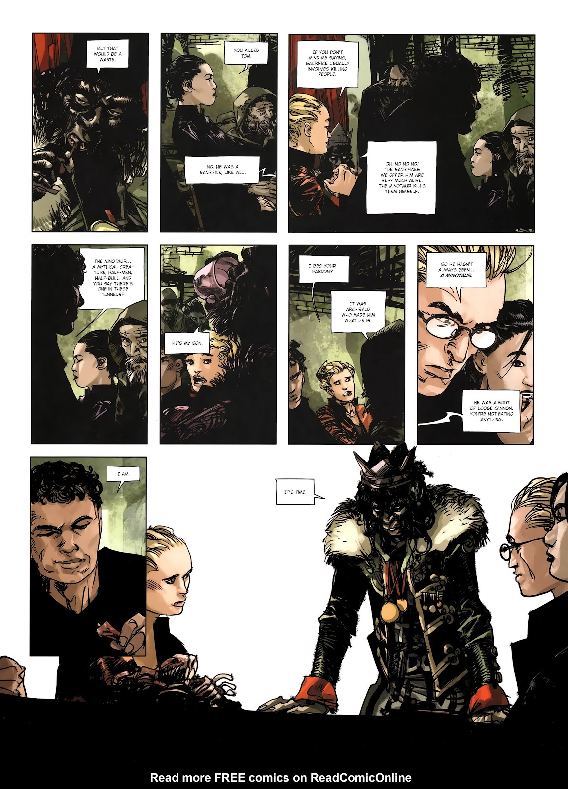 Read online Cutting Edge (2013) comic -  Issue #4 - 17