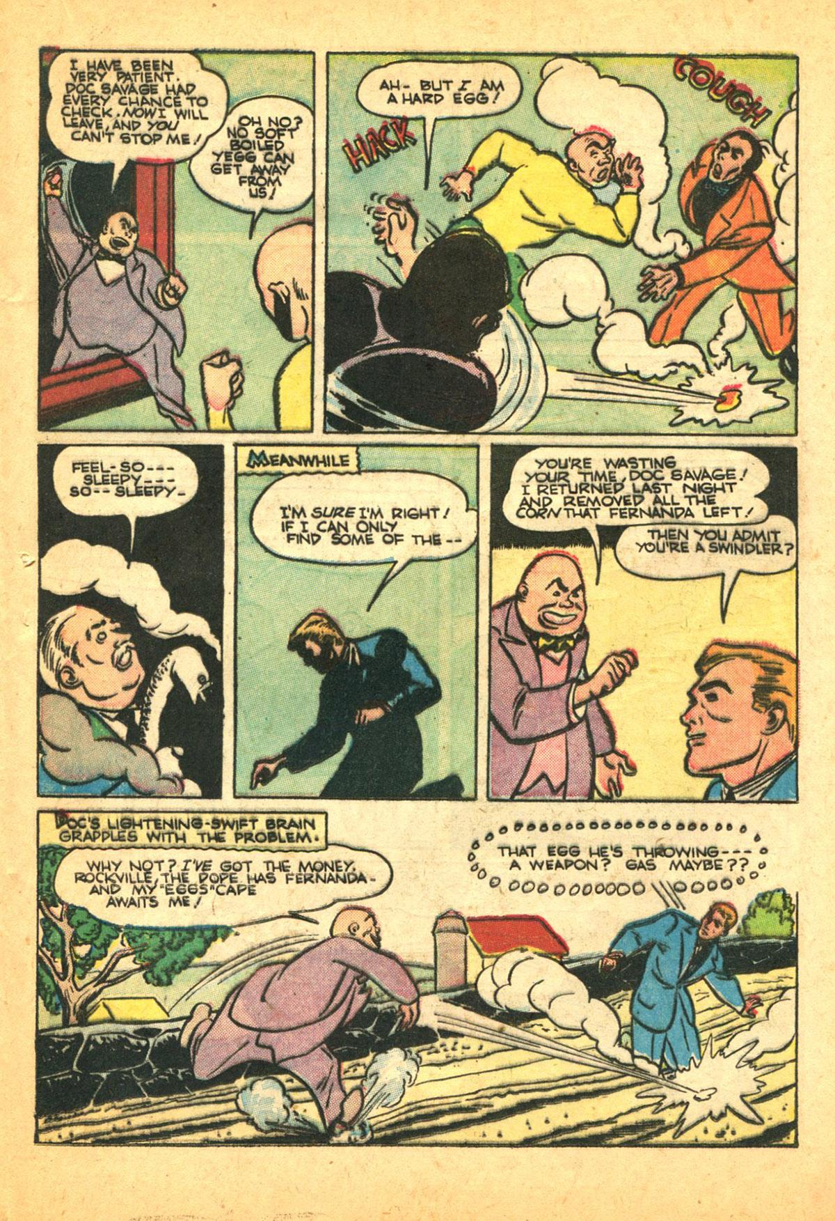 Read online Shadow Comics comic -  Issue #38 - 43