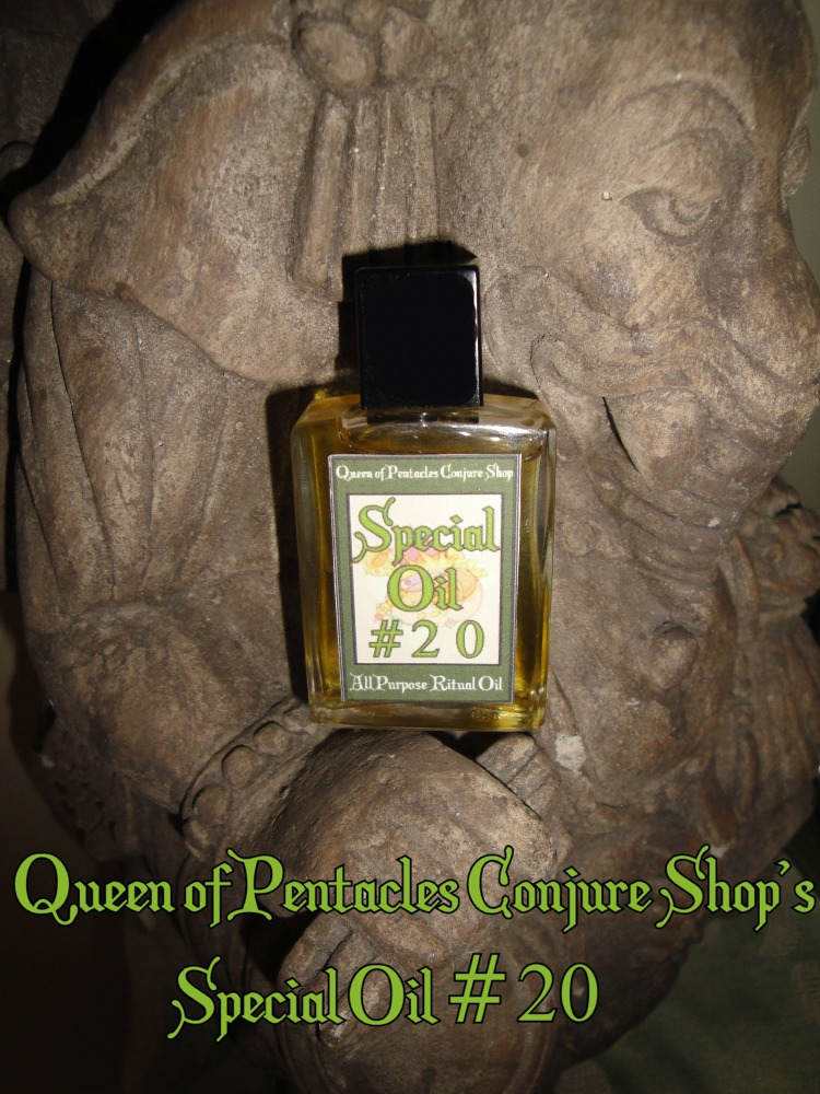 Queen of Pentacles Conjure Blog: Special Oil #20 – Your