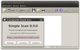 Simple Scan - proste narzędzie do skanowania | Ubuntu