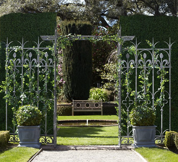 Garden Wedding Amazing Architectural Elements From