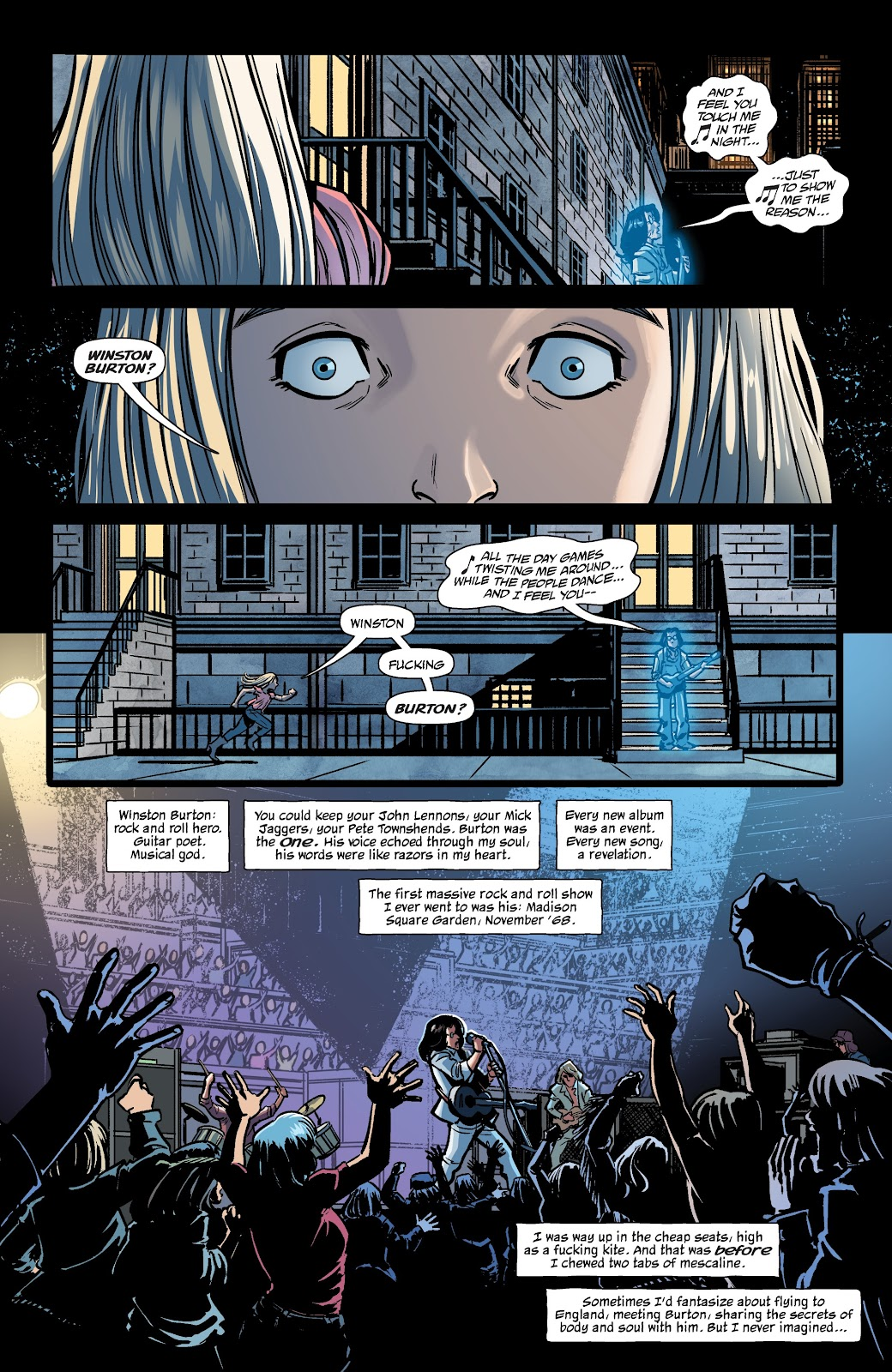 Read online The Girl In The Bay comic -  Issue #2 - 12