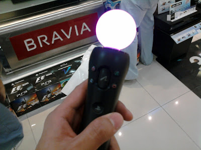 PS Move Motion Controller