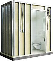 MORE FOR LESS: cuartos de baño prefabricados