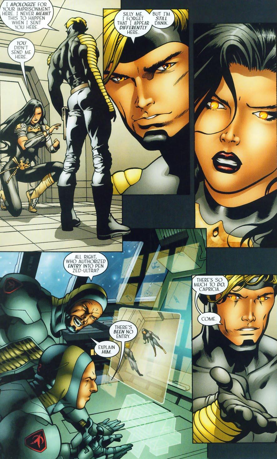 Read online Sigil (2000) comic -  Issue #38 - 16