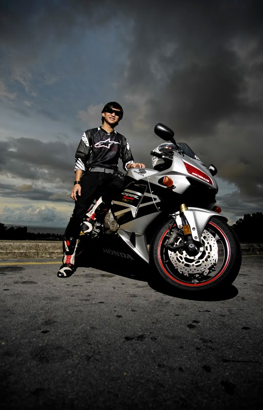 Karlos Big Bike Photo shoot