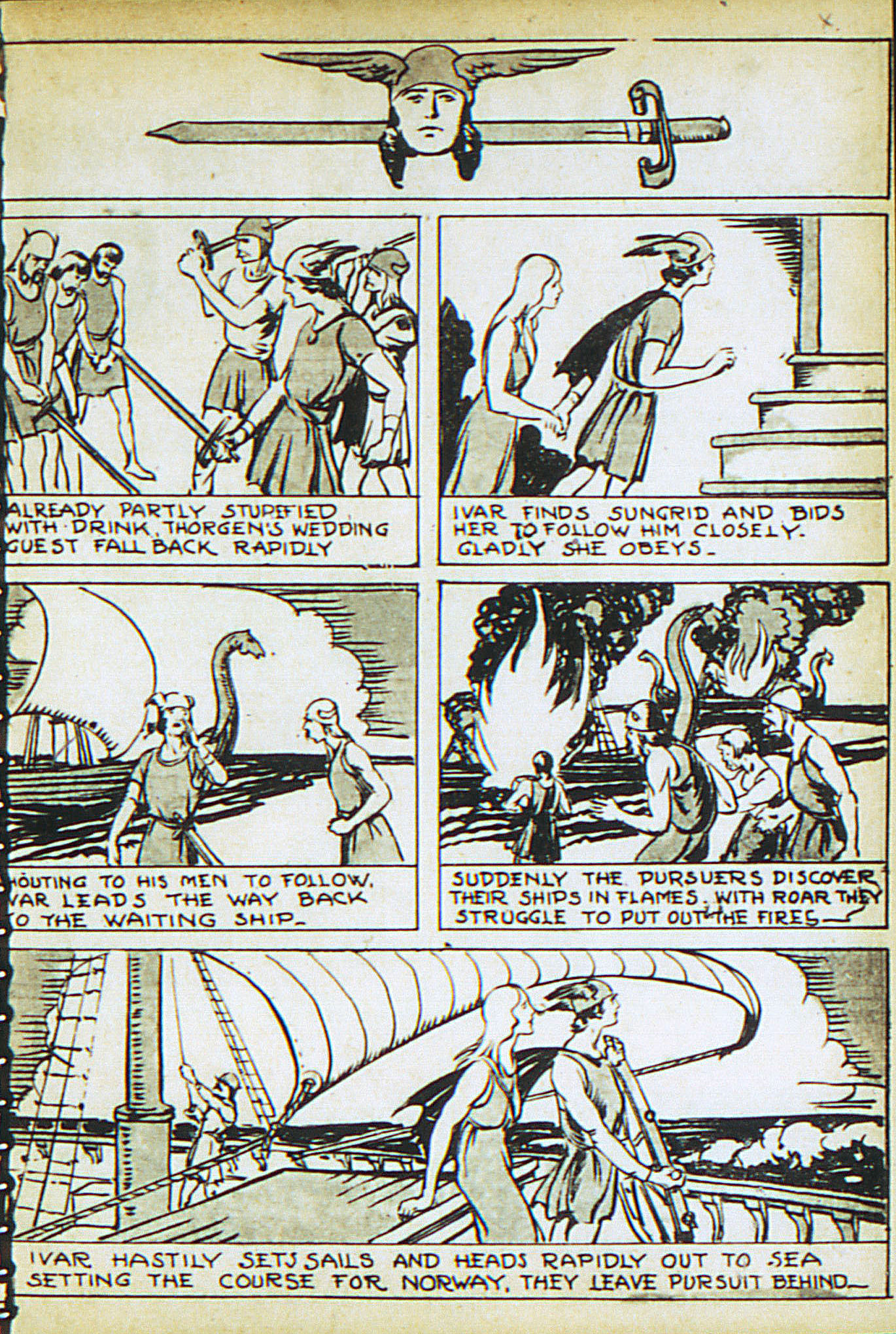 Read online Adventure Comics (1938) comic -  Issue #22 - 24