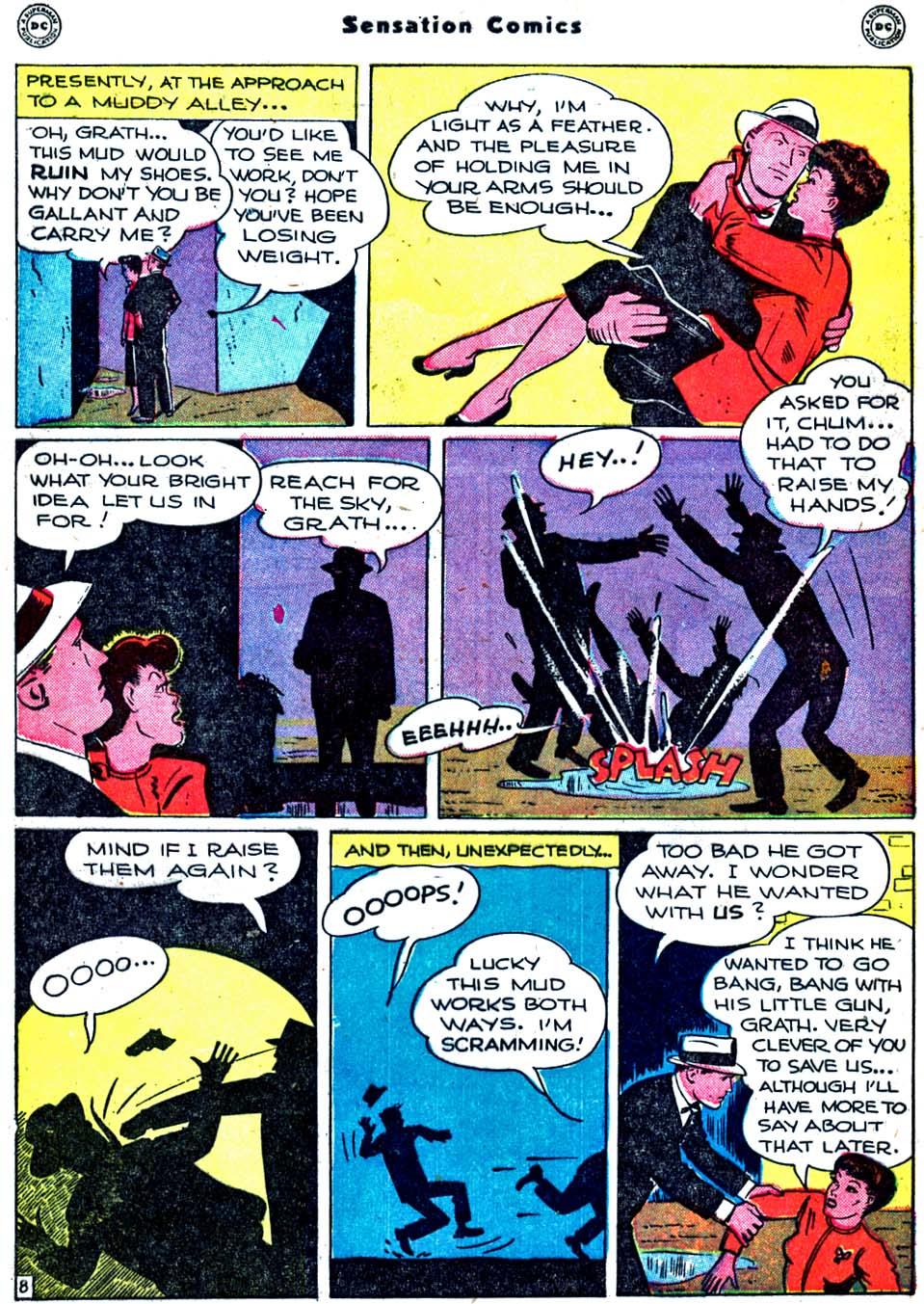 Read online Sensation (Mystery) Comics comic -  Issue #91 - 46