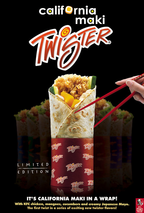 Raves Near Me >> Manila Life: KFC turns Japanese with California Maki ...