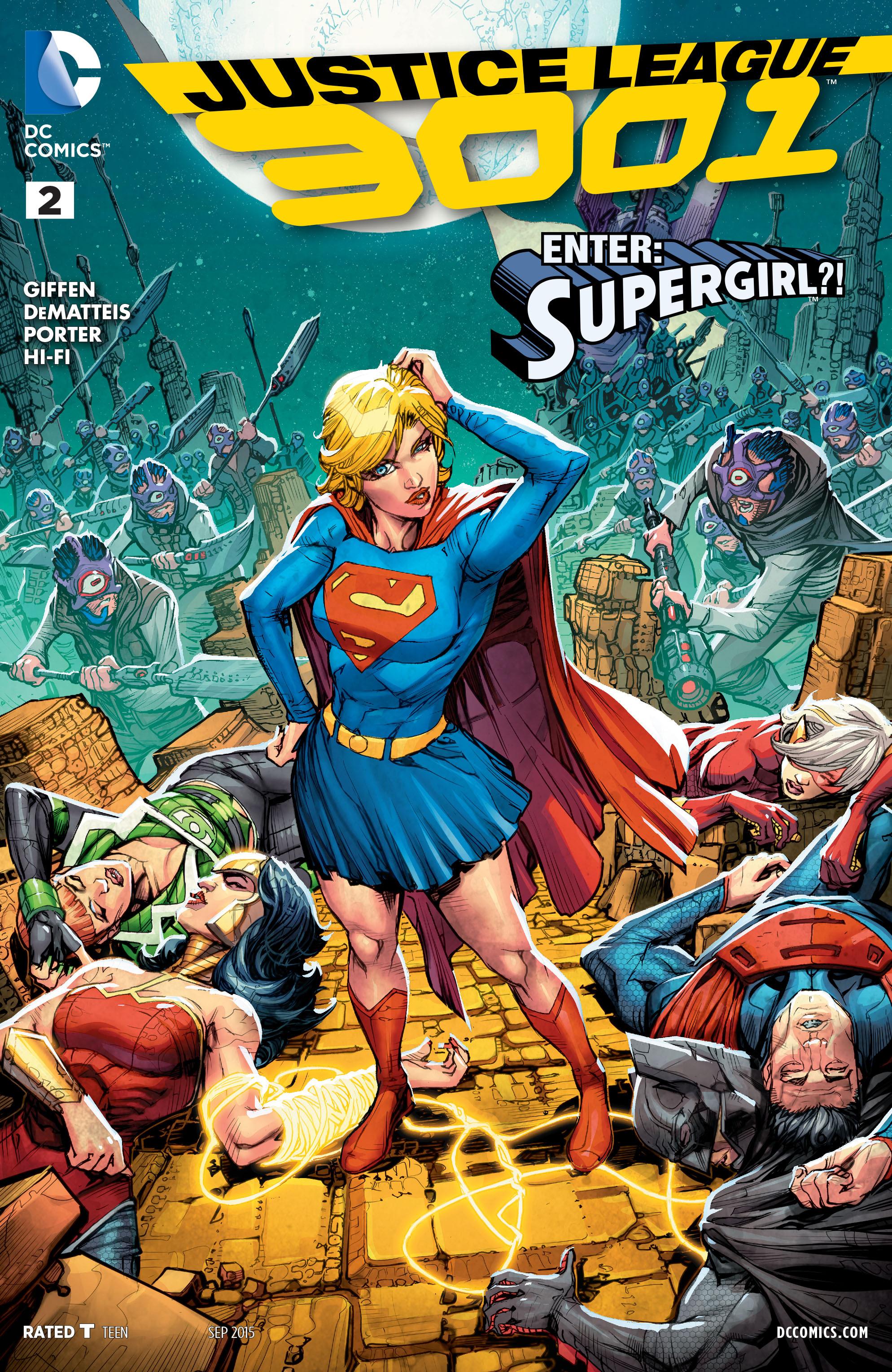 Justice League 3001 2 Page 1