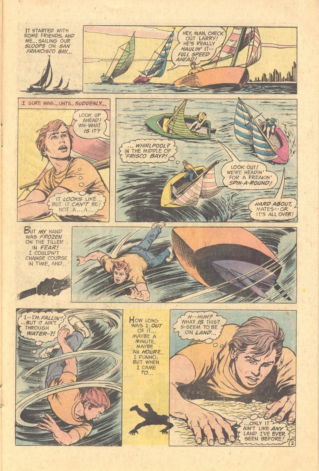 Read online Strange Sports Stories (1973) comic -  Issue #6 - 14