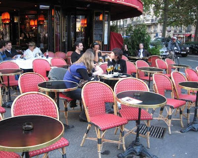 Parisian Cafe Table And Chairs Office Chair Cushion Kohls Paris Breakfasts Cafes
