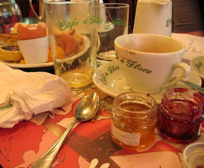 Confiture at Cafe de Flore