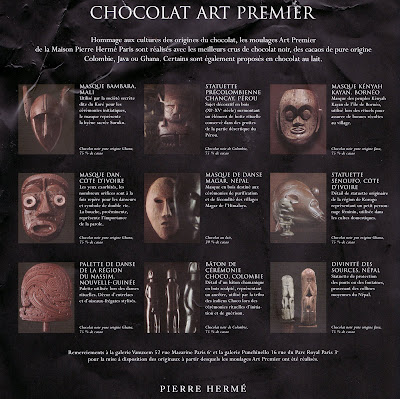 Pierre Herme Chocolate Mask Map