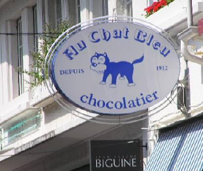 Au Chat Bleu Paris