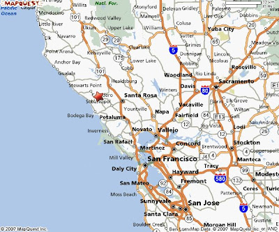 Highway 101 California Map.Map Of 101 Northern California World Maps