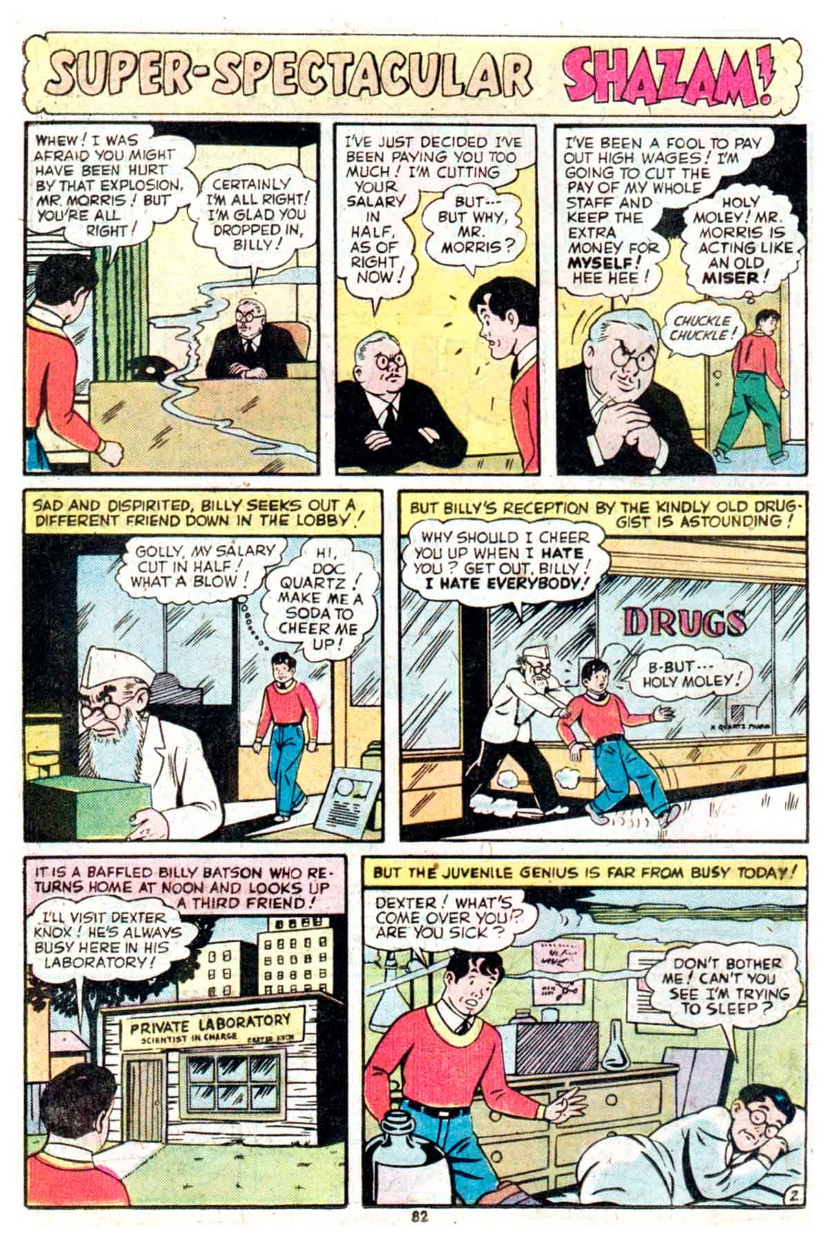 Read online Shazam! (1973) comic -  Issue #16 - 82