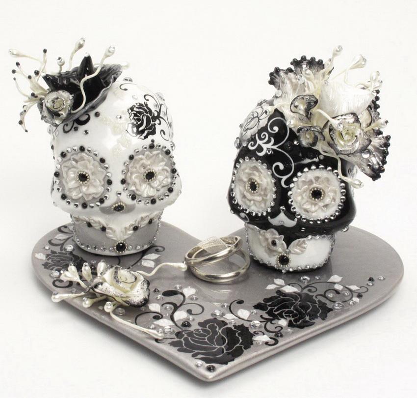 Skull Wedding Cake Toppers Skull Lover Wedding Cake