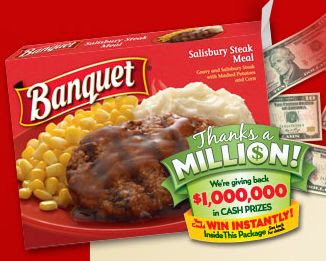 Banquet Thanks a Million Instant Win Game