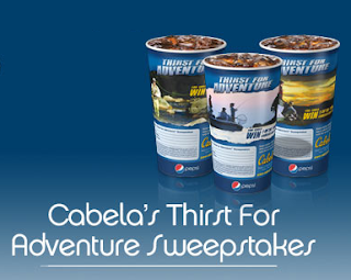 Cabelas Thirst For Adventure Sweepstakes