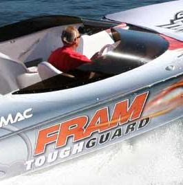 The Fram Cory Mac Boat Sweepstakes