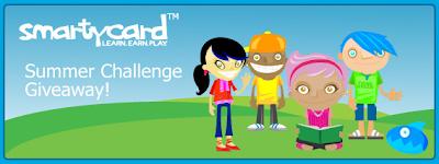 Scholastic Summer Challenge SmartyCard Giveaway