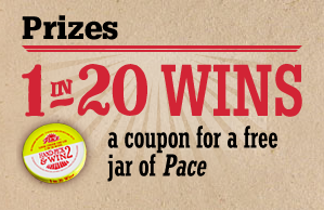 Pace Hand-Pick & Win 2 Game