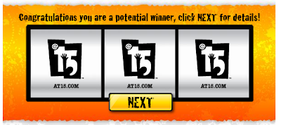 MyCokeRewards Best Buy $15 Gift Card Instant Win Game Winning Screenshot