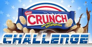 Nestle Crunch Facebook Challenge Game