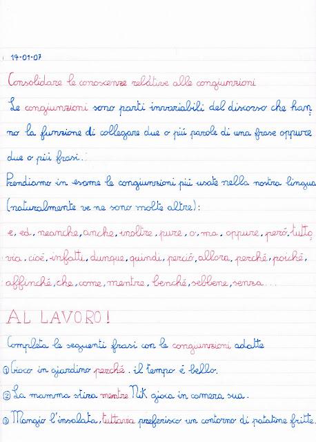 Le Congiunzioni Spiegazioni Ed Esercizi Di Grammatica Scheda