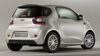 Aston Martin Cygnet rear